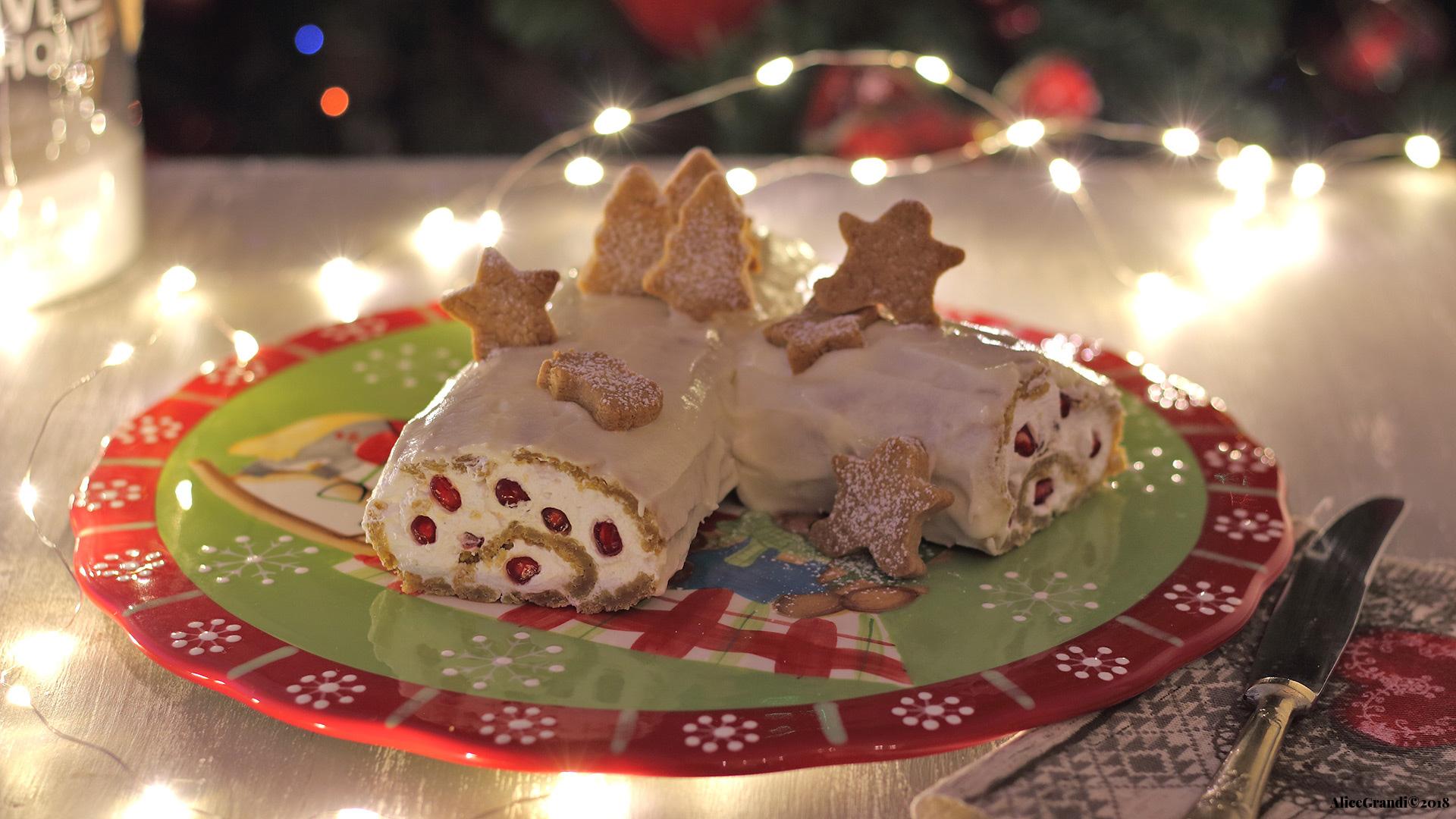 Tronchetto Di Natale Montersino.Tronchetto Di Natale Vegan Al Pan Di Zenzero Ricettevegolose