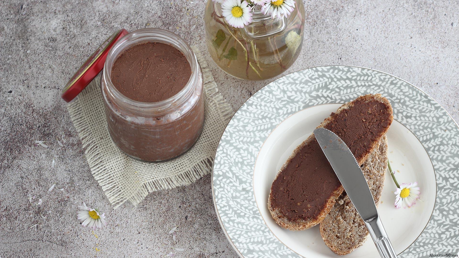 Ricetta Nutella Light Fatta In Casa.Nutella Proteica Senza Latte Nutella Fatta In Casa Vegan E Salutare Ricettevegolose